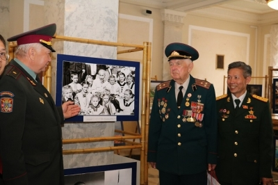 Exposition de photos « Vietnam : son pays et son peuple » en Ukraine