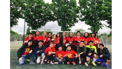 Tournoi de football des étudiants vietnamiens en France