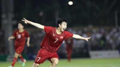 Football féminin : le Vietnam mate les Philippines et file en finale
